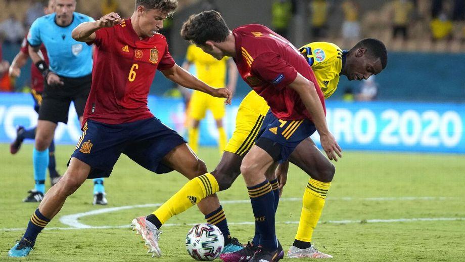 España aprieta pero no pasa del empate ante Suecia en Eurocopa