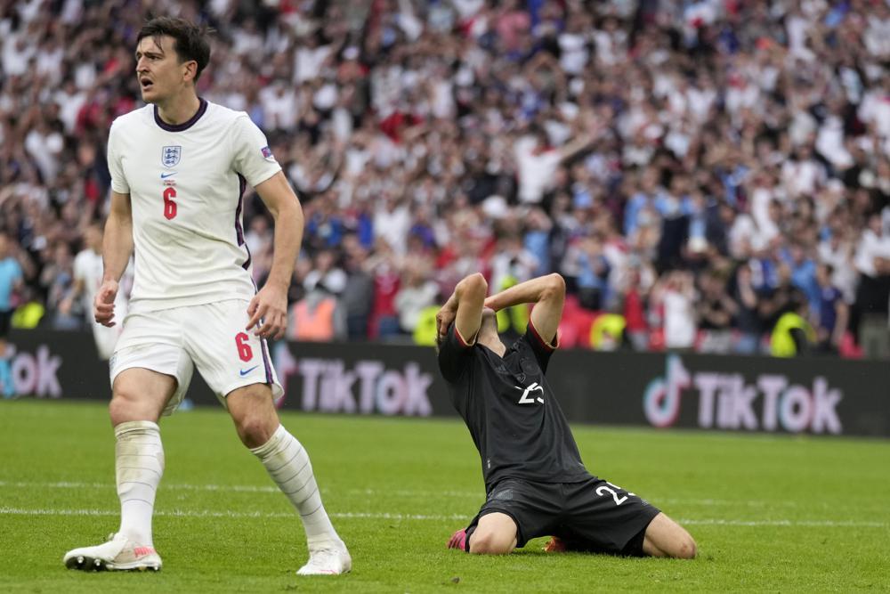 Inglaterra elimina a Alemania de la Euro Copa
