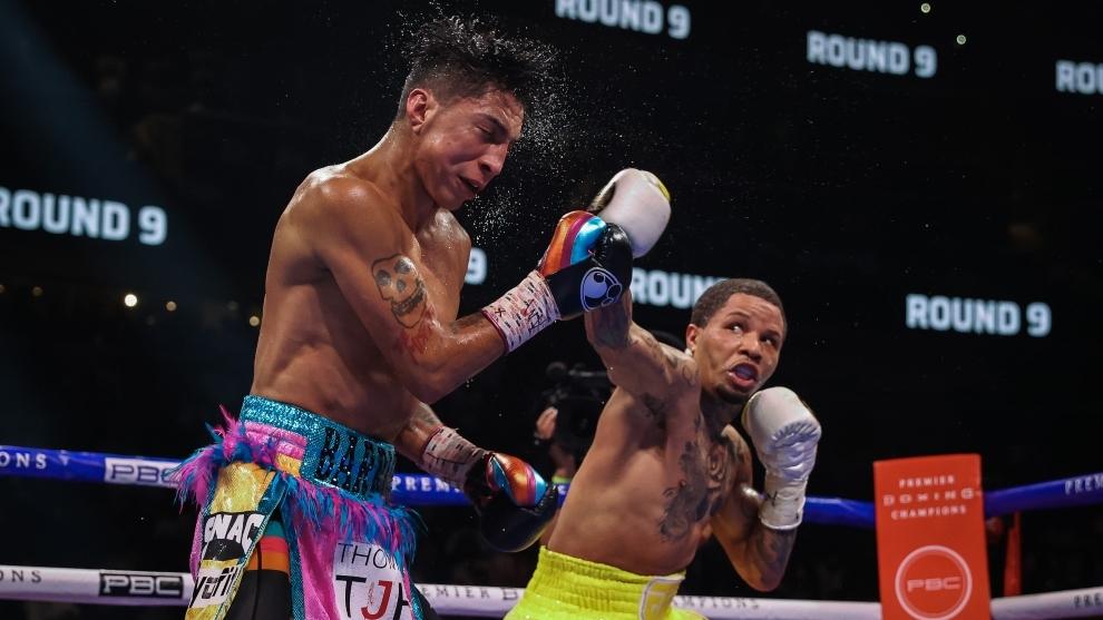 Gervonta Davis noqueó a Mario Barrios y reclama título Superligero