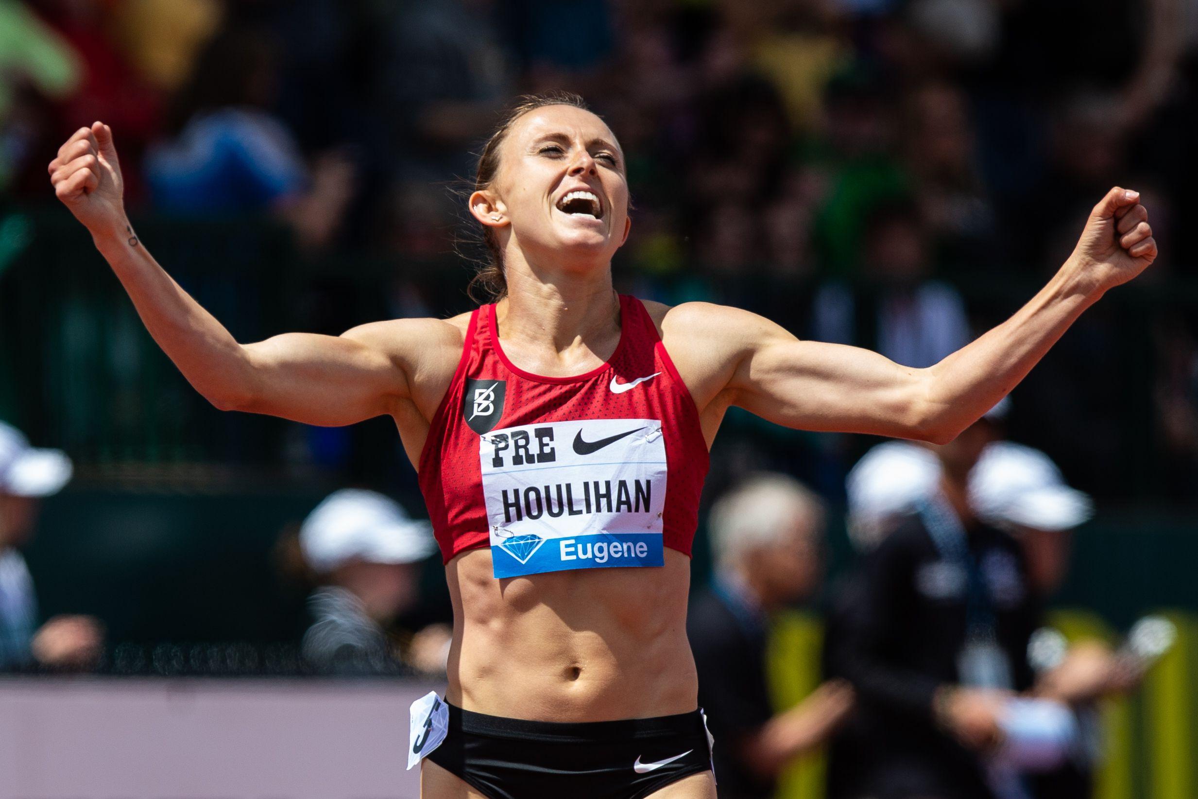 Shelby Houlihan suspendida 4 años por positivo en nandrolona