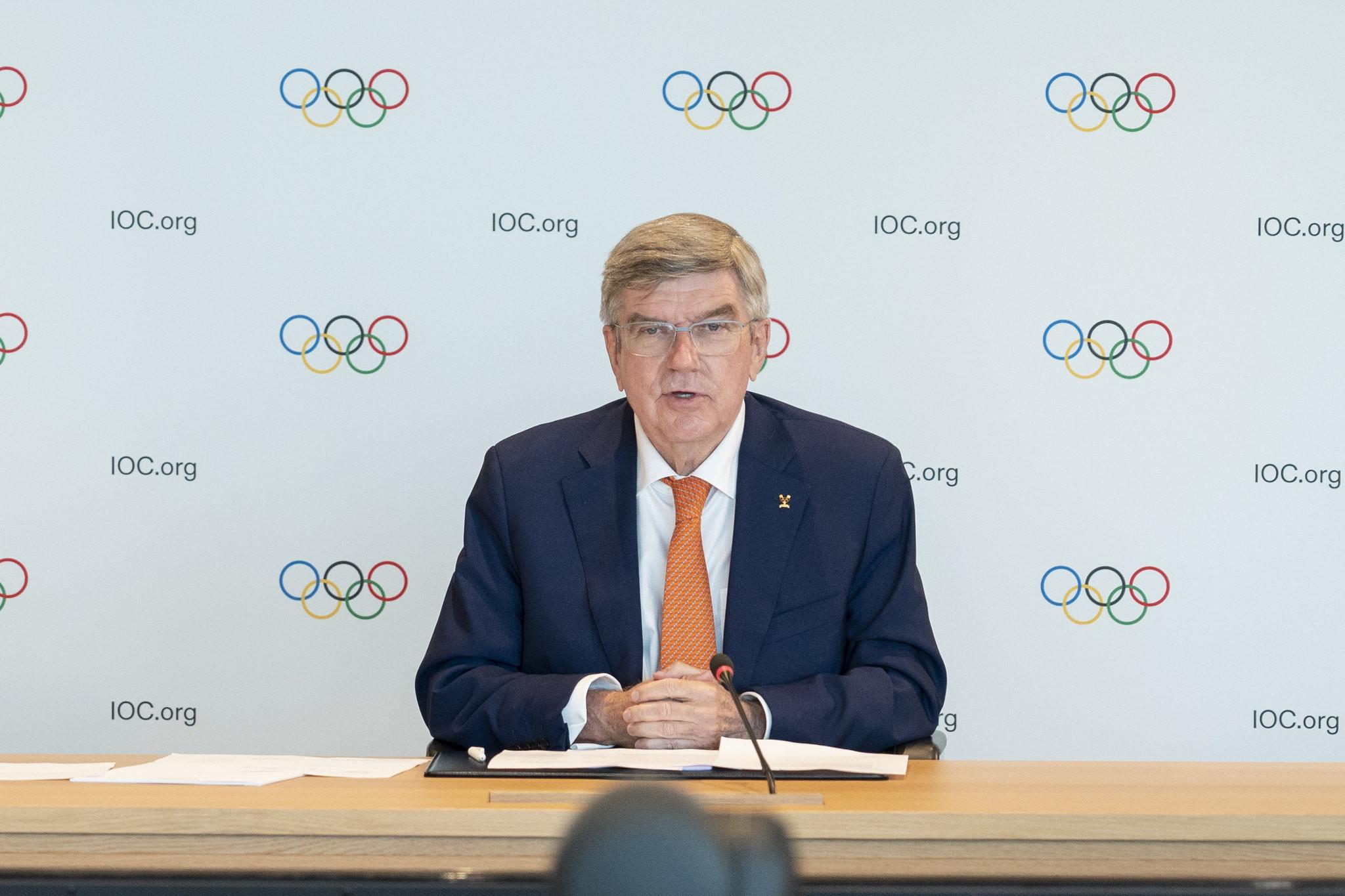 Bach pide a los CON europeos garanticen que se sigan las reglas en Tokio 2020