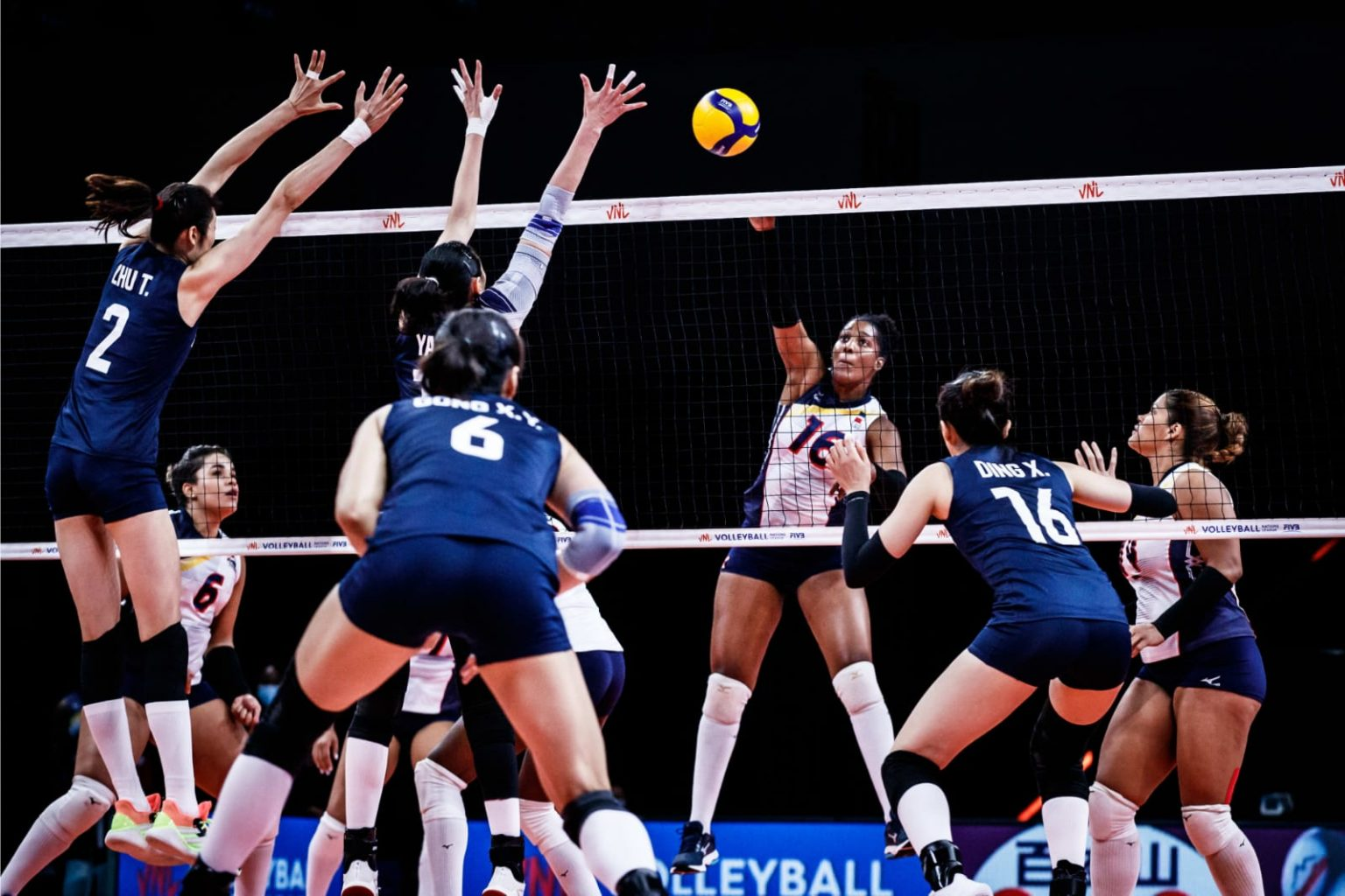 China se impone a RD voleibol en Liga de Naciones