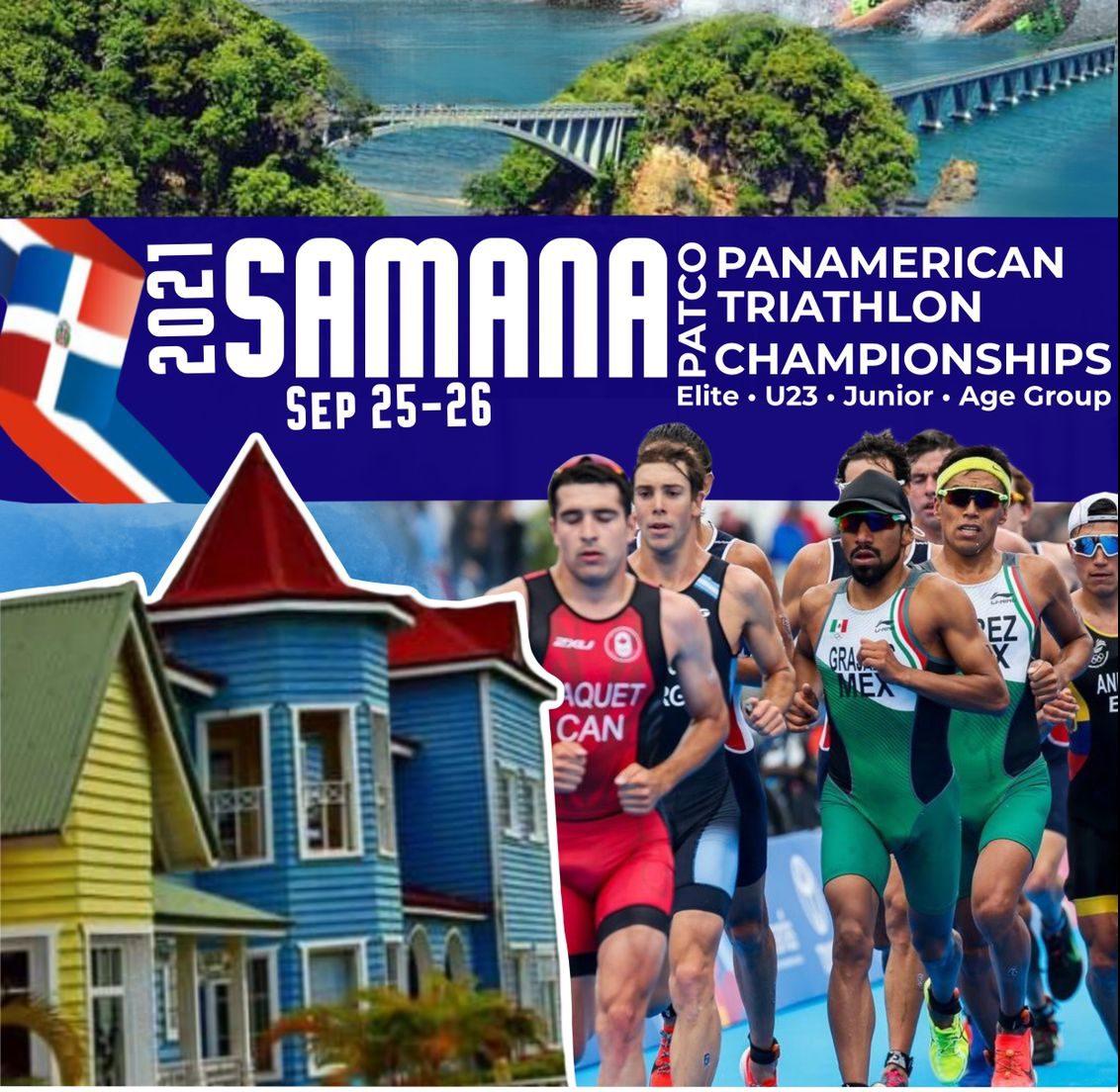 RD será sede Campeonato Panamericano de Triatlón 2021