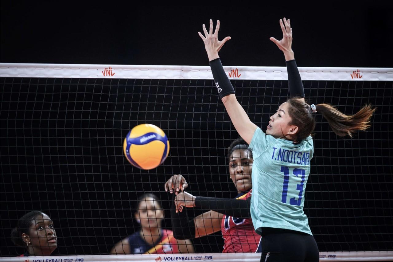 Sexteto femenino obtiene segunda victoria seguida en Liga Naciones