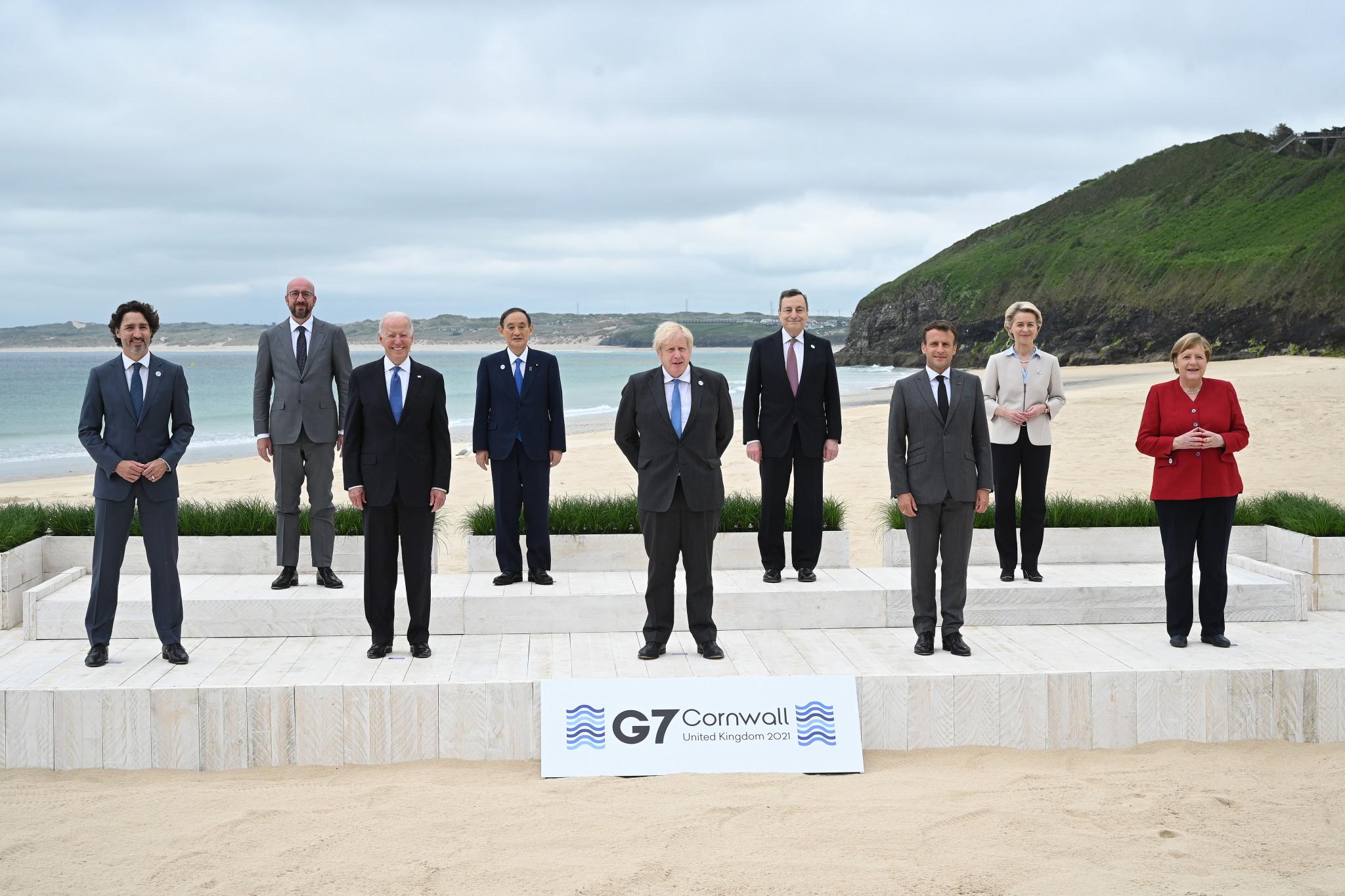 Los líderes del G7 reiteran su apoyo a los Juegos Olímpicos de Tokio 2020