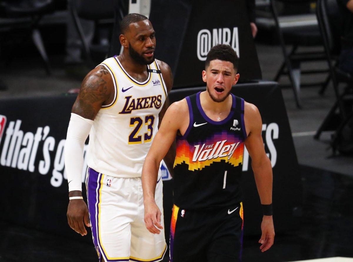 Suns eliminan a Lakers en primera ronda; Denver avanza