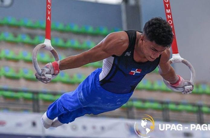 Jabiel Polanco, oro y bronce en Panam Juvenil gimnasia artística