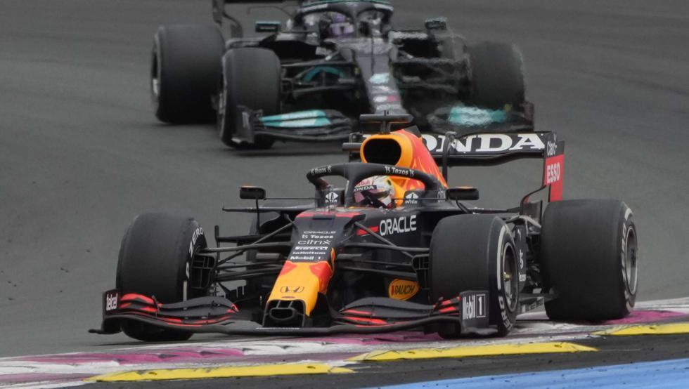 Victoria de infarto de Verstappen sobre Hamilton en GP Francia