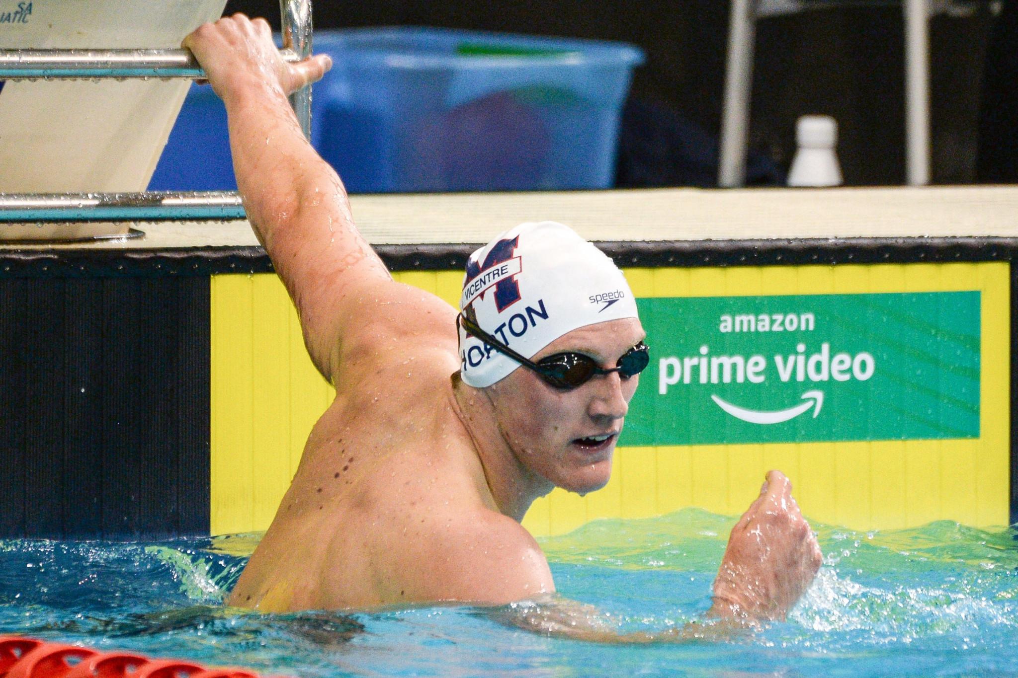 El campeón olímpico Horton se perderá Tokio 2020, al quedar tercero en pruebas de natación