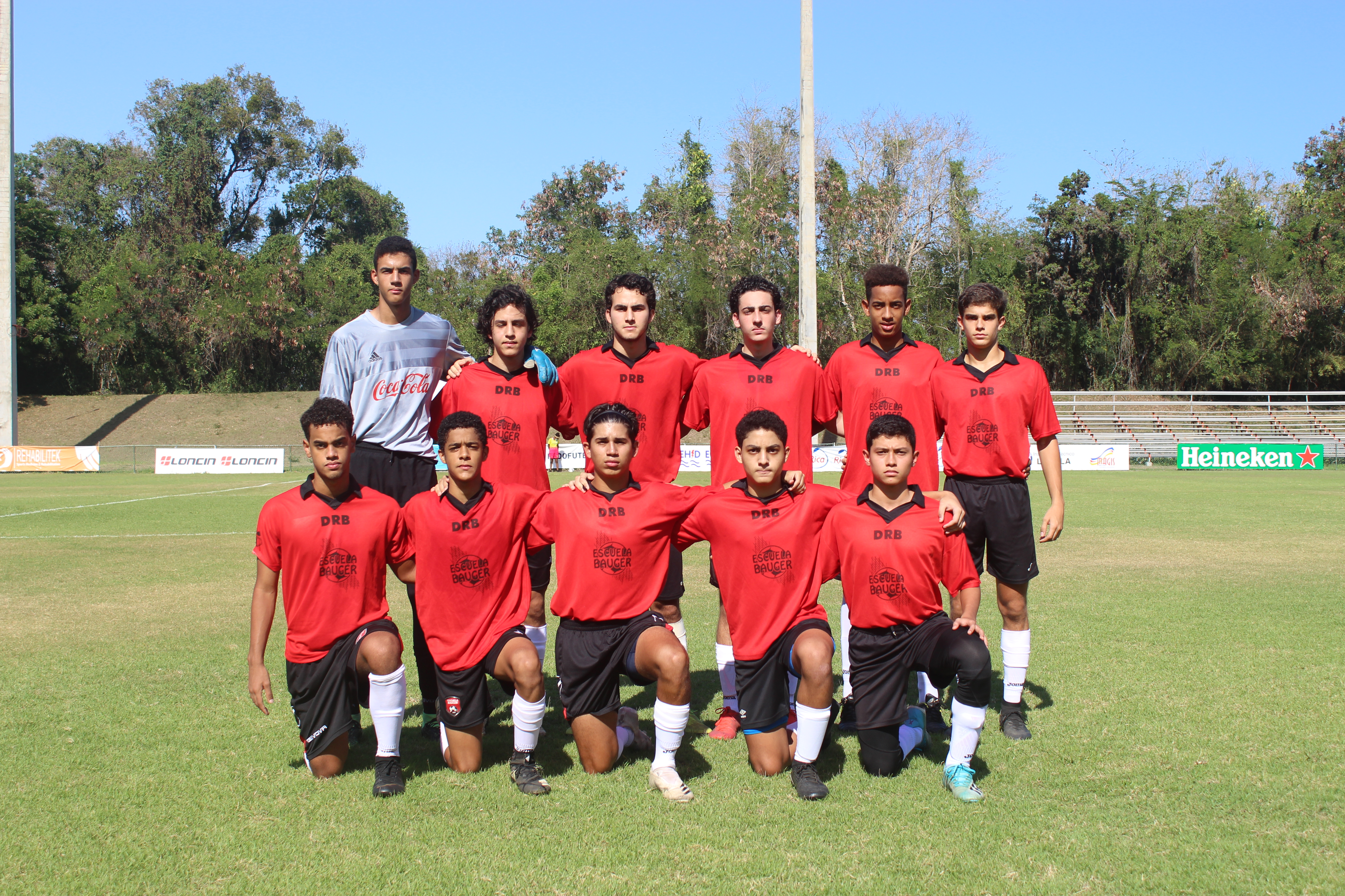 Reanudan acción para el Distrito y el Sur en Torneo Nacional de Clubes Sub-18
