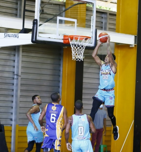 El Eugenio consigue tercera victoria al hilo en torneo basket superior de Santo Domingo Este