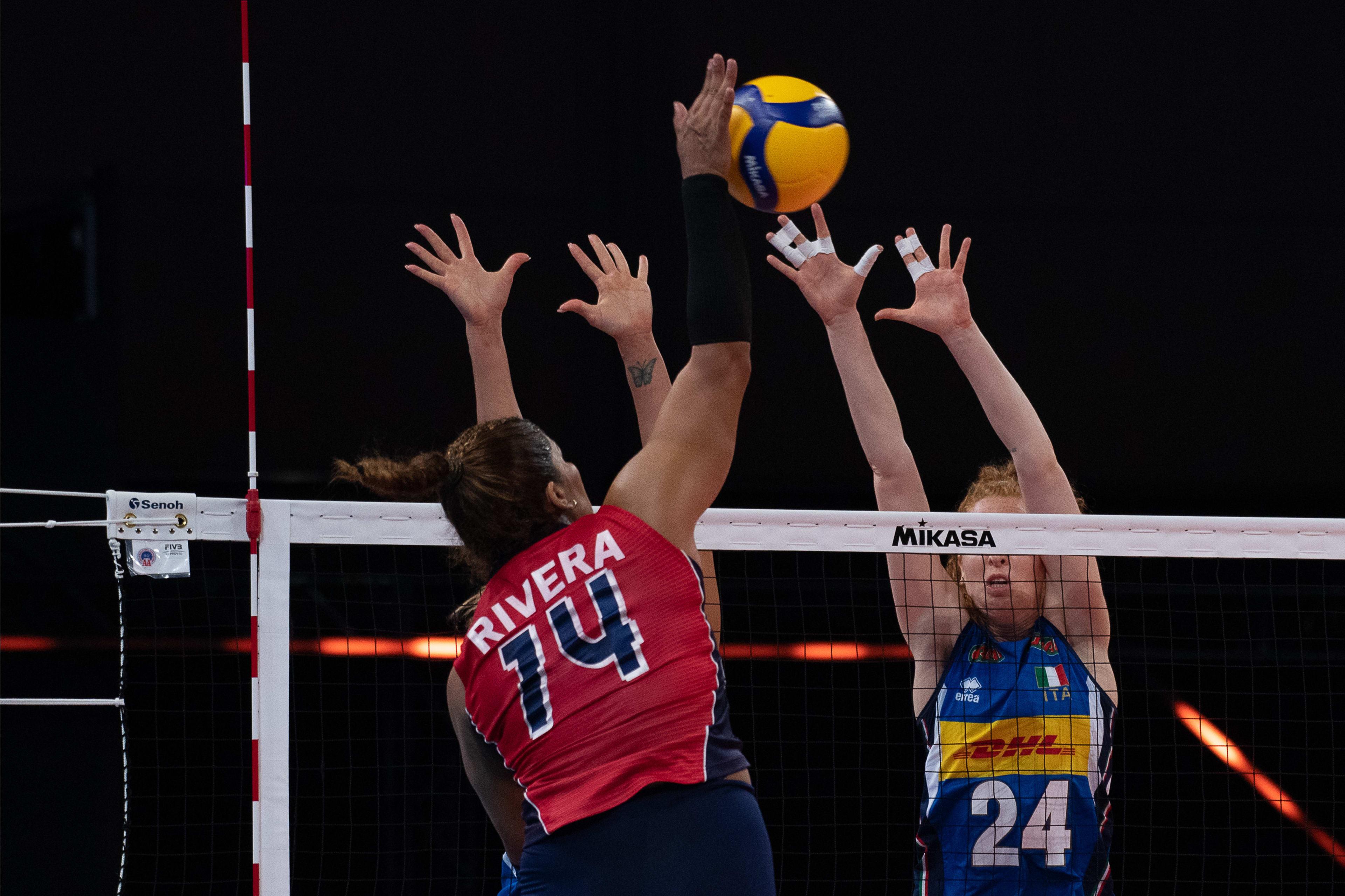 Voleibol RD derrota 3-1 a Italia  y logra tercer triunfo al hilo en Liga Naciones