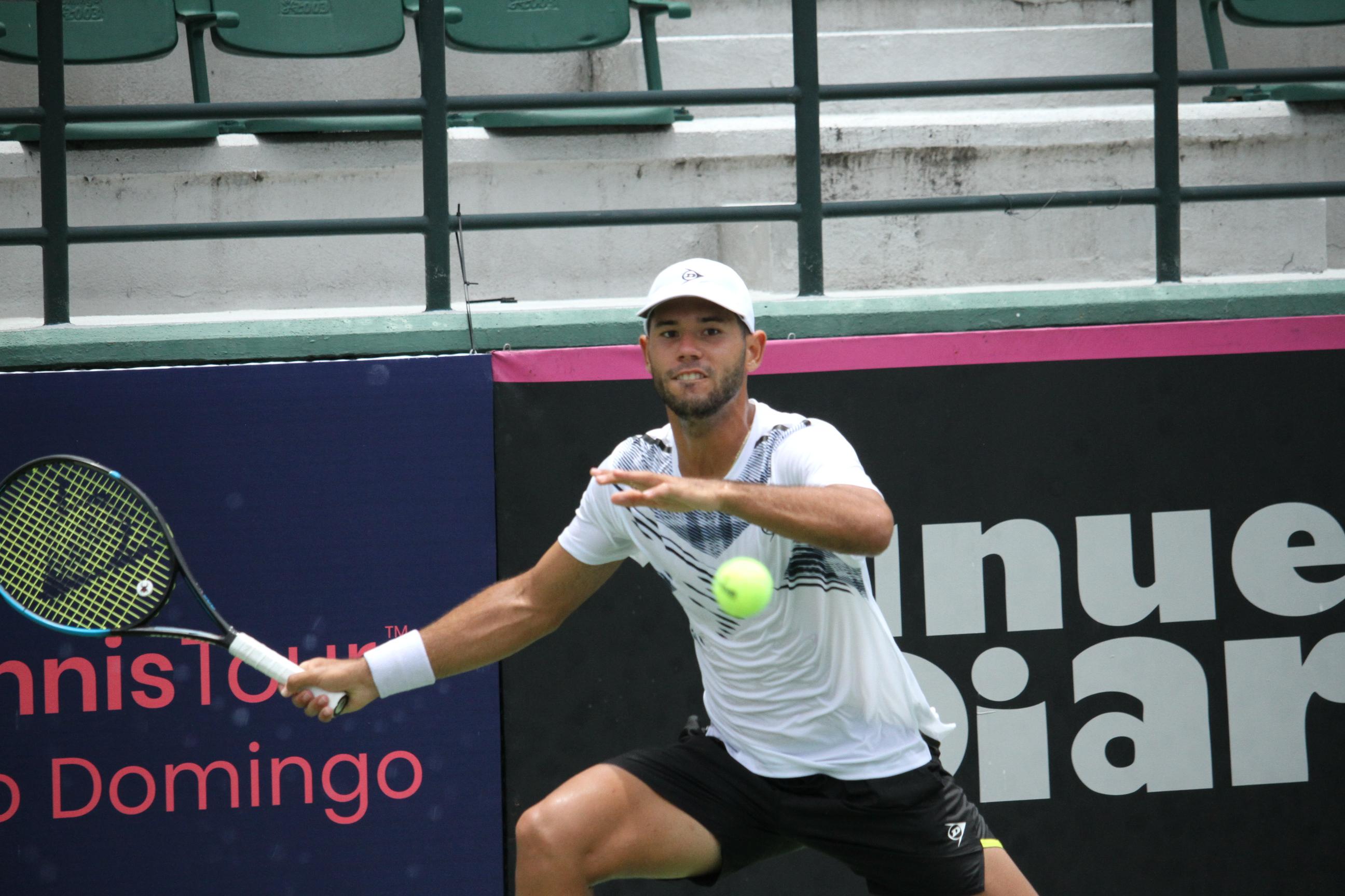 Hardt se impone ante Olivares en cuartos de final M25 Santo Domingo