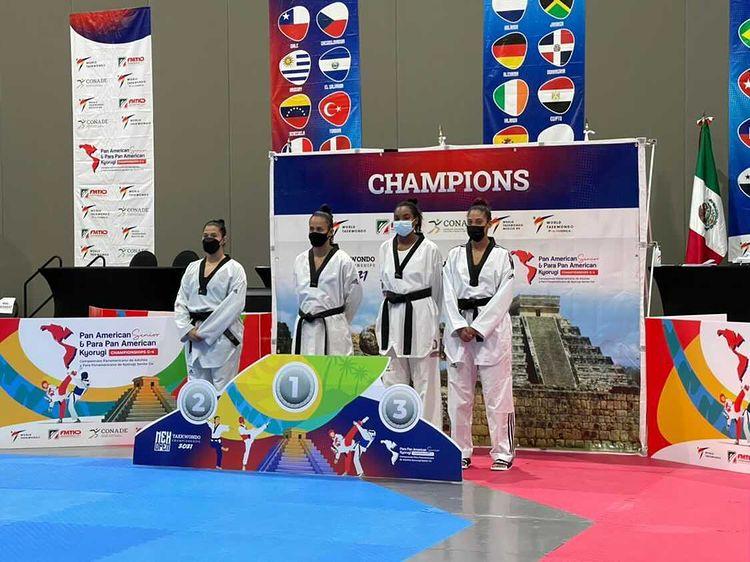 Katherine Rodríguez, bronce en Panamericano de taekwondo