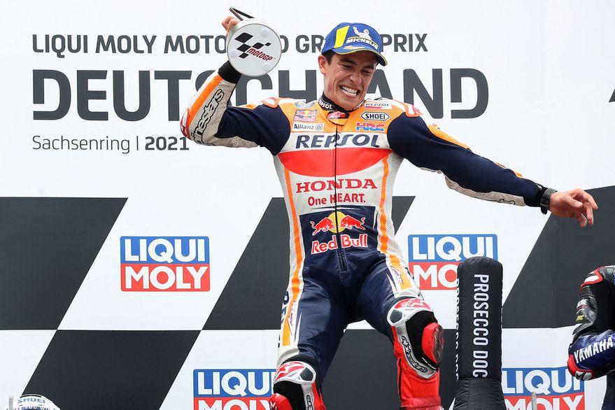 Marc Márquez retorna con triunfo en Gran Premio de Alemania