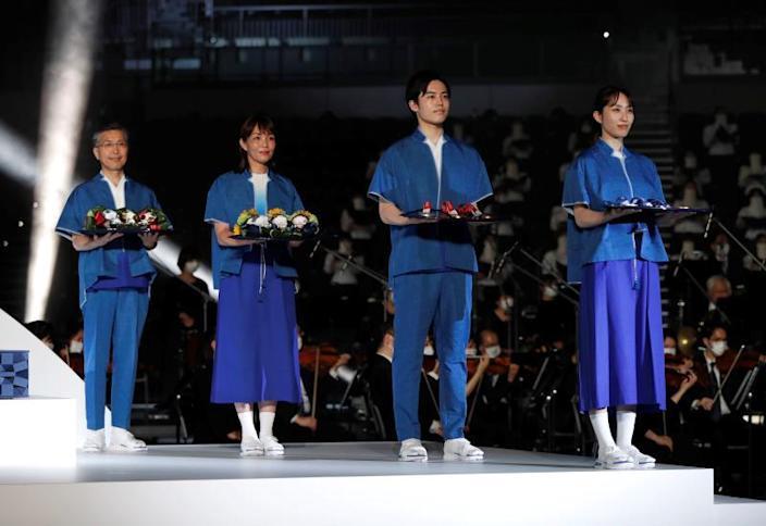 Tokio 2020 muestra el atrezo y la música de las ceremonias