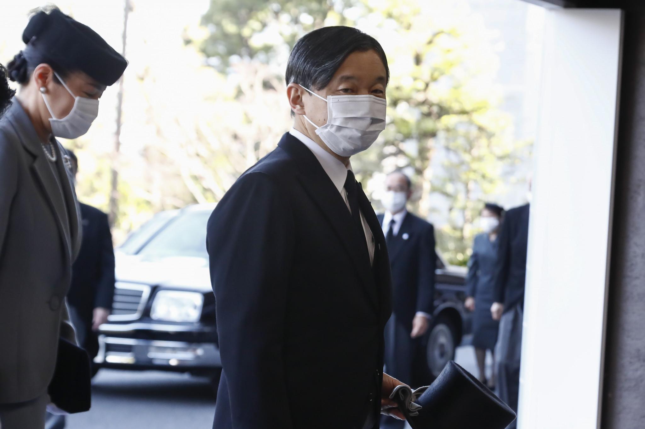 Emperador de Japón expresa preocupación por Tokio 2020