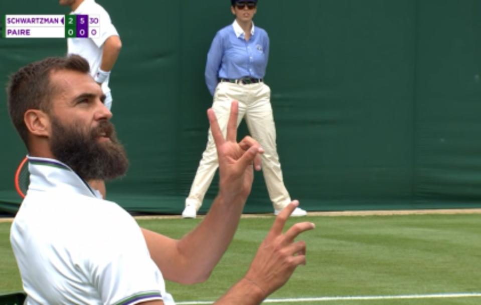 Benoit Paire vuelve a avergonzar al mundo del tenis y el deporte