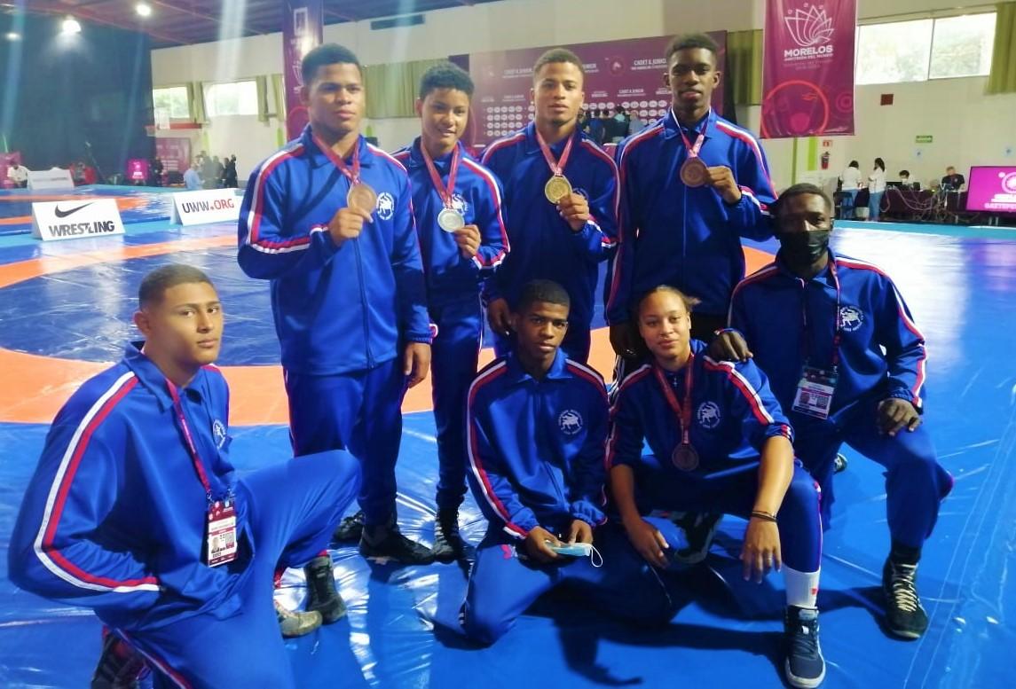 Lucha RD gana cinco medallas en Campeonato Panamericano Juvenil