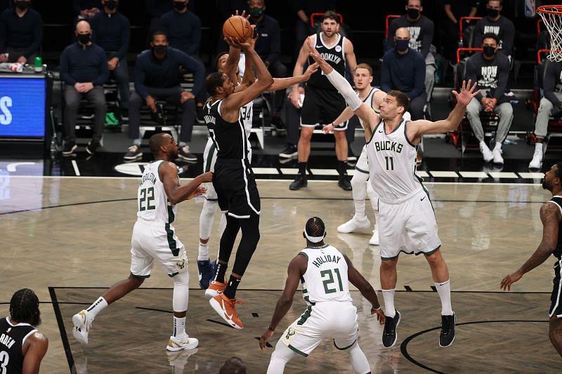 Los Nets regresaron en el marcador en triunfo ante los Bucks