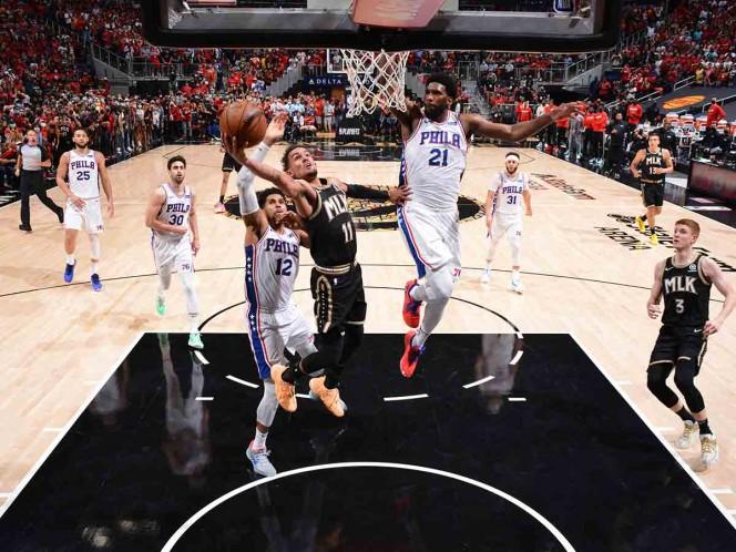 Los Clippers empatan con Jazz; Hawks igualan serie ante Sixers
