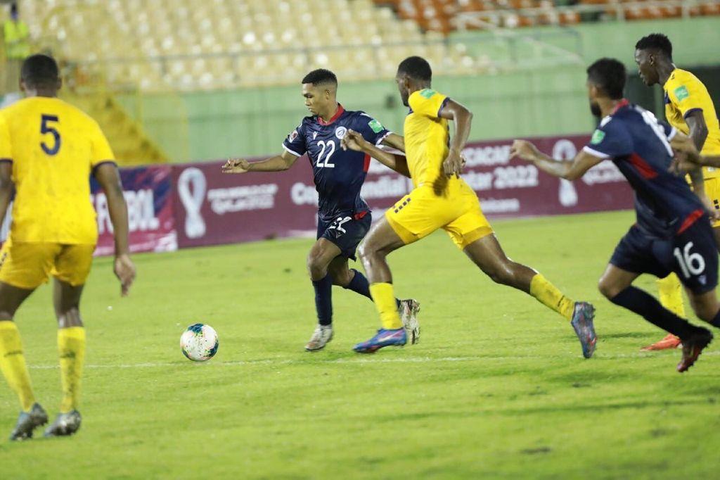 Equipo fútbol RD obtiene un punto ante Barbados