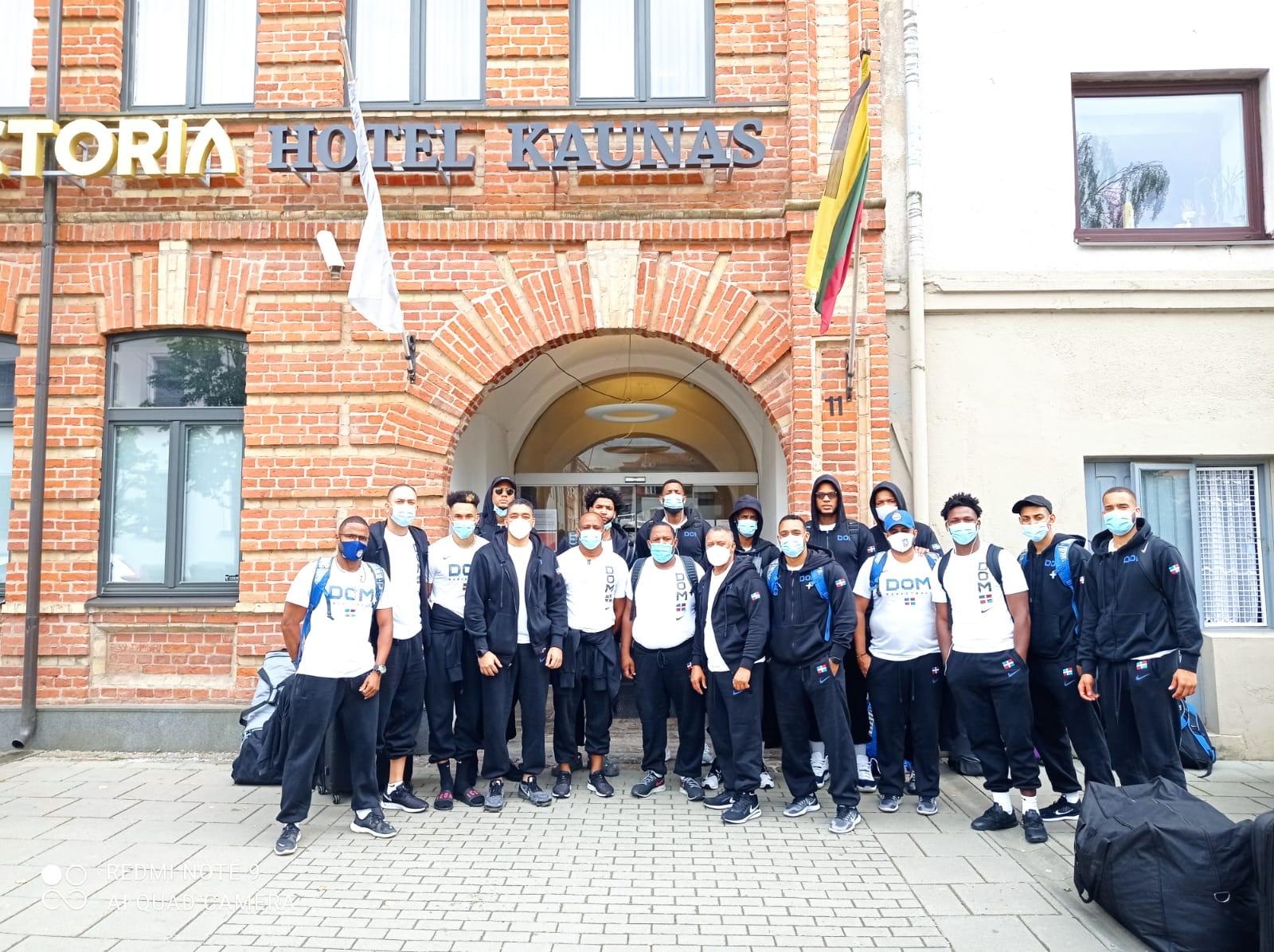 Basket RD arriba a Lituania para base entrenamientos previo repechaje