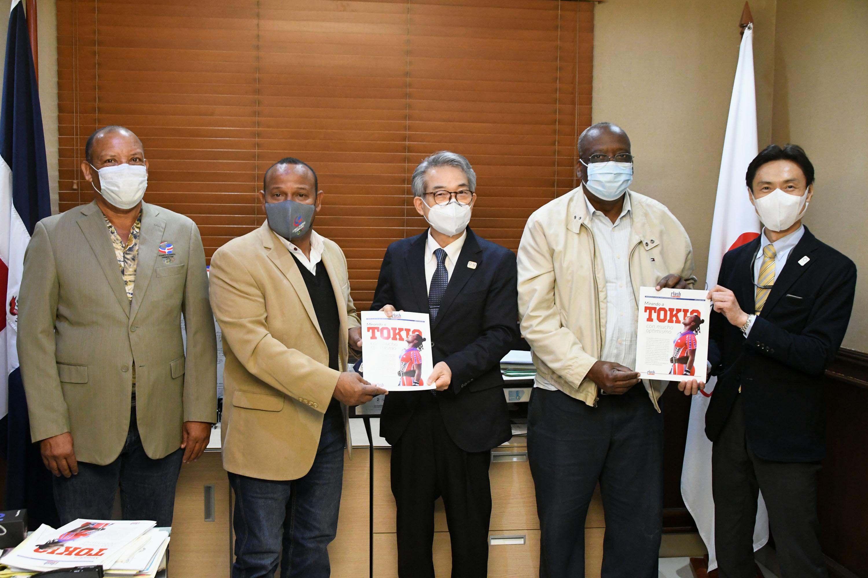 Embajador Hiroyuki Makiuchi afirma Japón está listo para presentar JJOO