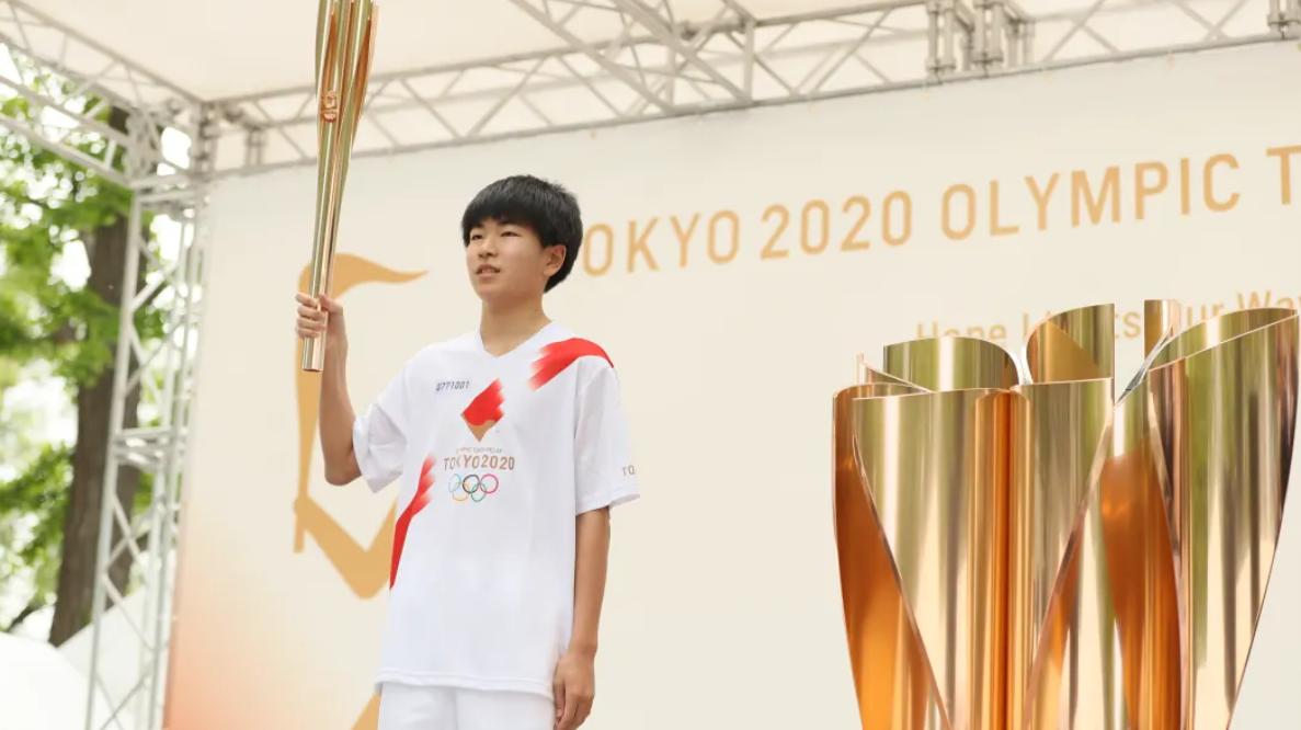 Relevo de la antorcha olímpica llega a la ciudad del maratón de Tokio 2020, Sapporo.