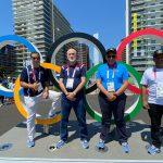 Acosta exhorta a la población dar seguimiento atletas en Tokio