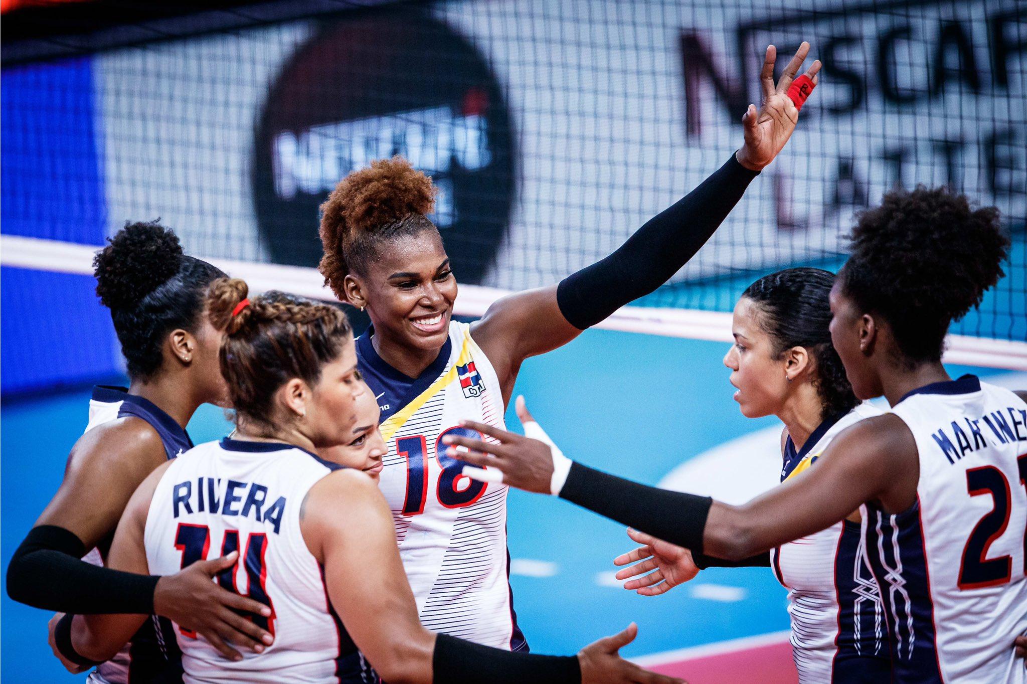 Voleibol RD femenino da a conocer jugadora van a Tokio 2020