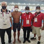 Acosta y García resaltan actuación del nadador Josué Domínguez