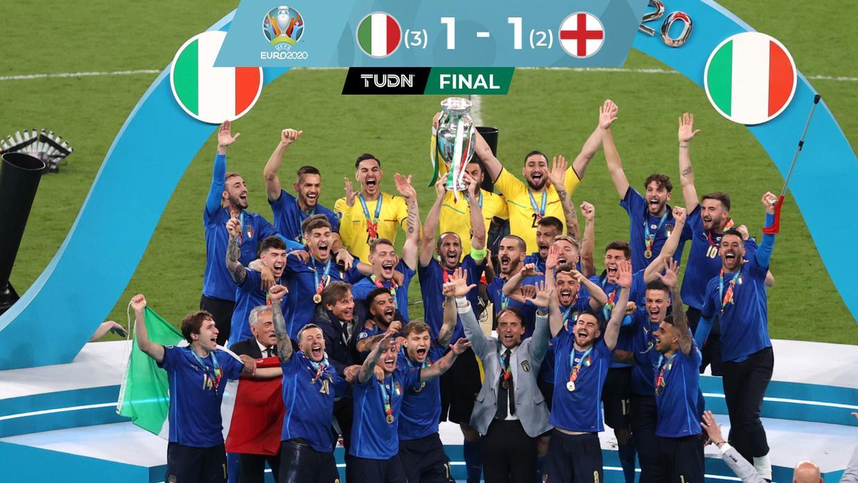Italia gana en dramática serie de penales la Euro 2020
