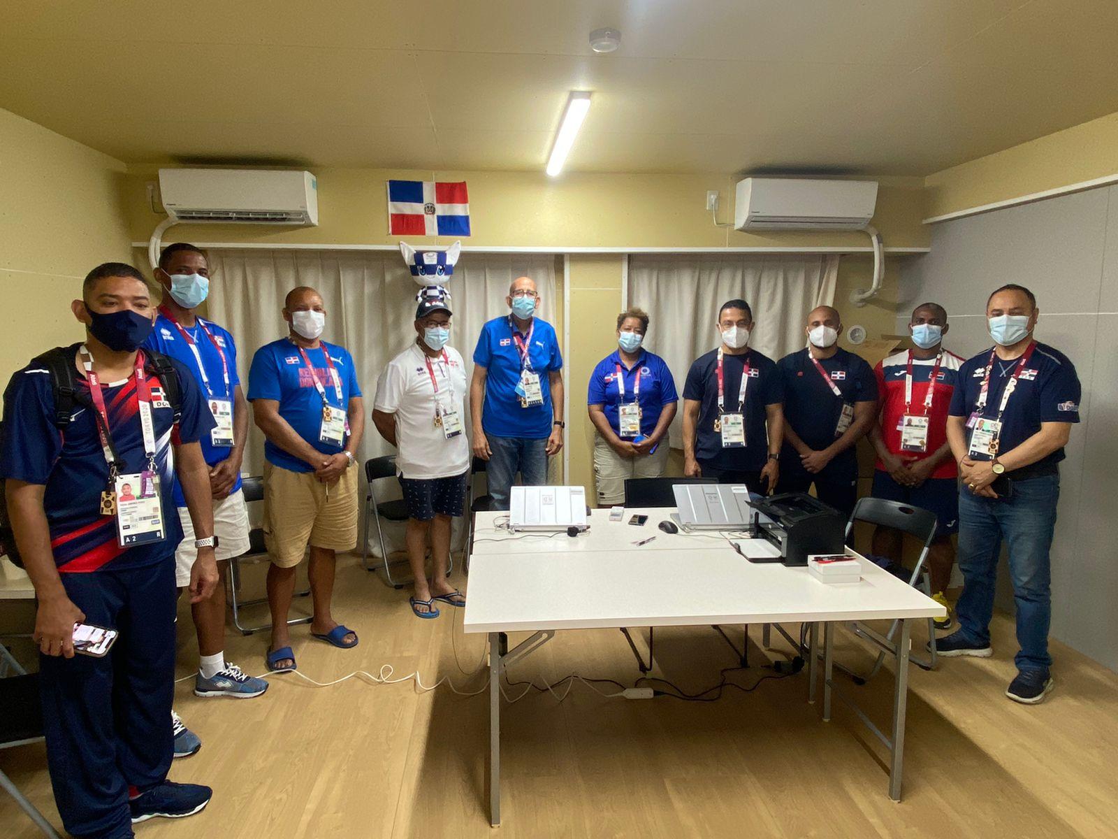 Jefatura de Misión aborda protocolos salud con delegados deportes