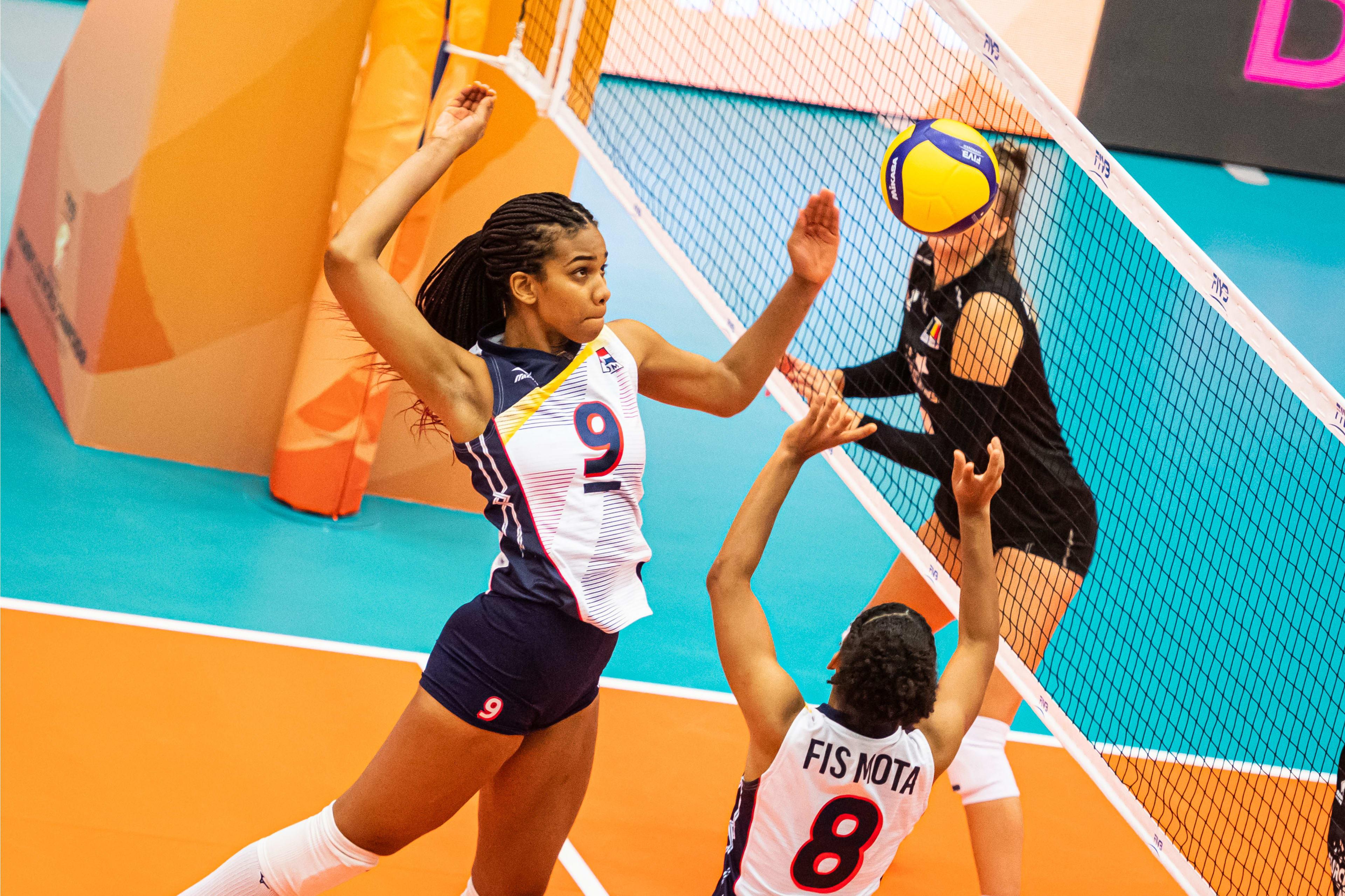 Voleibol RD vence a Bélgica en Mundial Voleibol Femenino Sub-20
