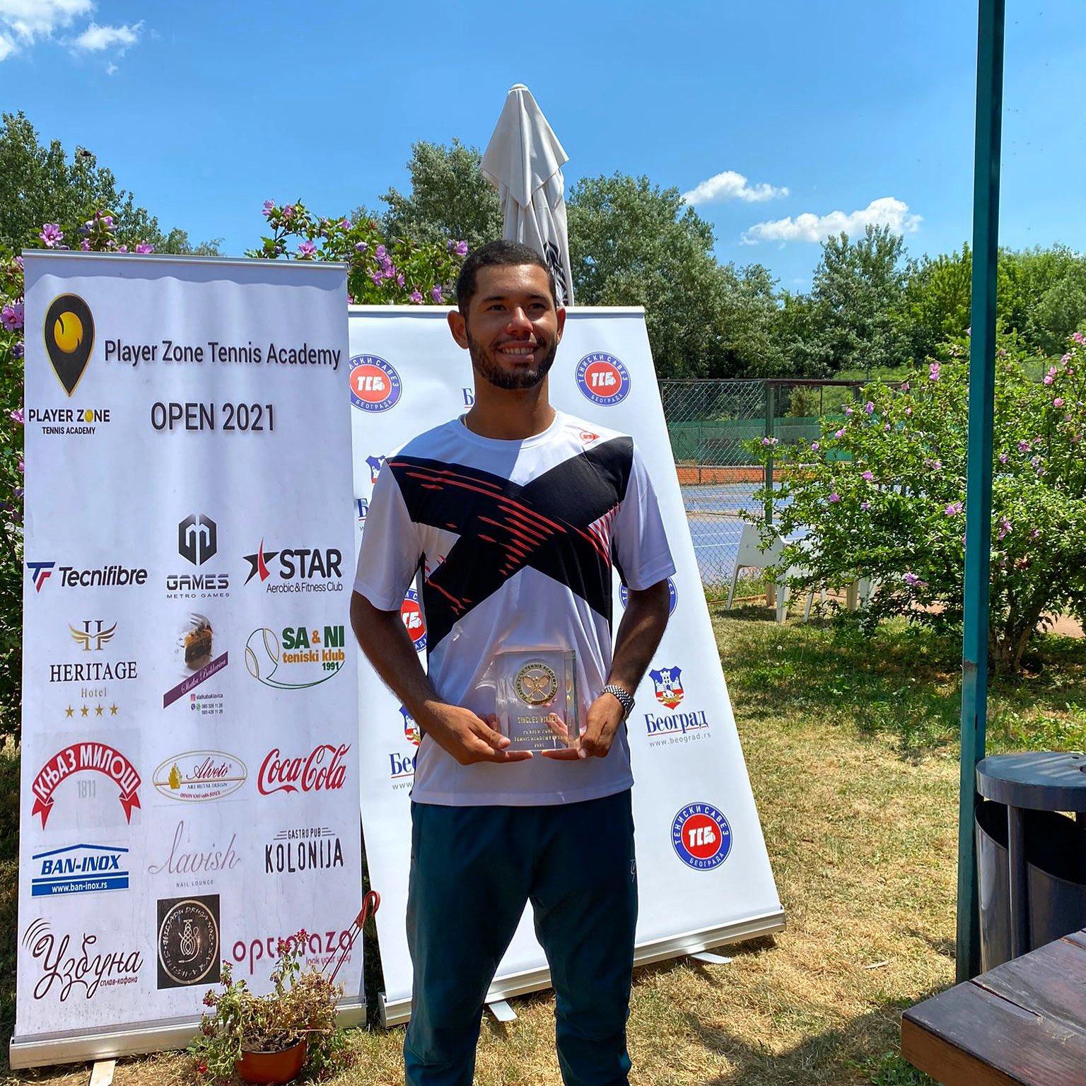 Nick Hardt gana en Serbia su primer torneo M25