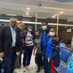Delegación de pesas sale a Tokio junto a miembro COI, Luis Mejía