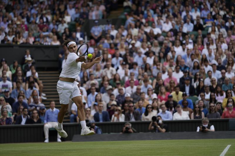 Federer encuentra su tenis y llega a 2da semana de Wimbledon