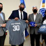 Tigres del Licey e Interior y Policía acuerdan acciones para la venidera temporada de Béisbol