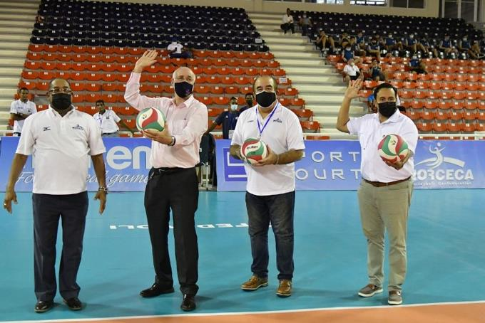 Voleibol RD debuta con triunfo ante Panamá en Copa Panamericana Masculina Sub-23