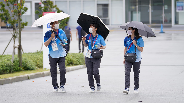 Voluntarios de Tokio 2020 listos para asumir su papel