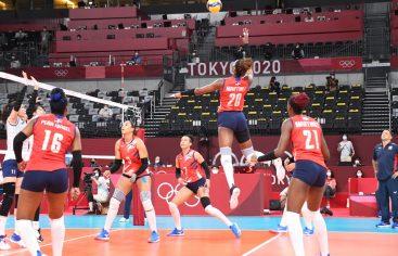Equipo voleibol RD pierde tercer juego al hilo en JJOO