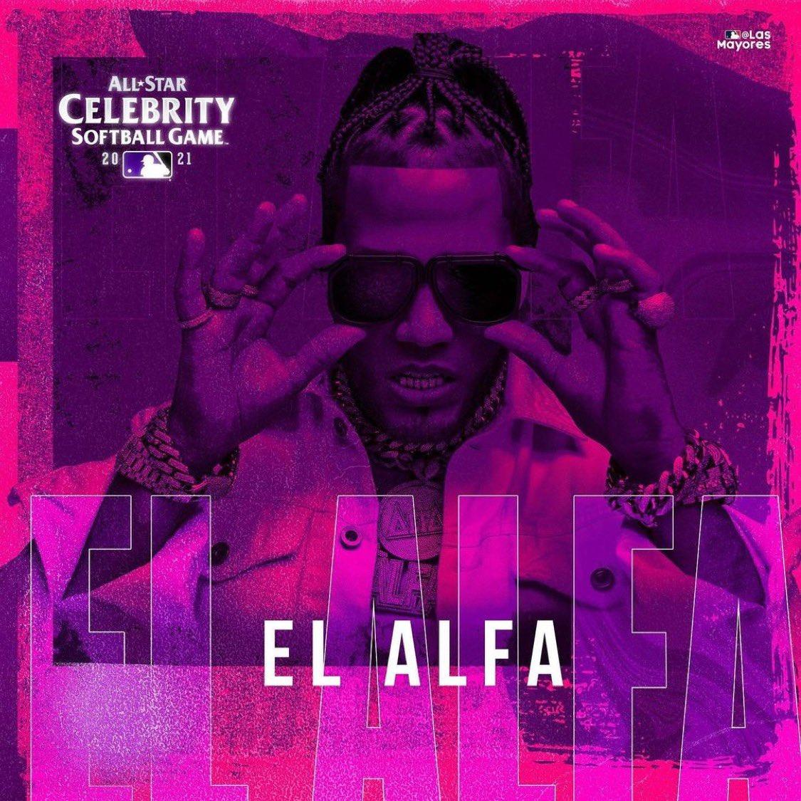 Artista urbano El Alfa participará en el Juego de Estrellas de Celebridades