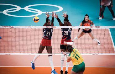 Sexteto RD cae ante Brasil en cerrado partdo