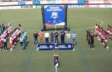 Inauguran la fase de liguilla del Torneo Nacional de Clubes Sub-18 de Fedofútbol