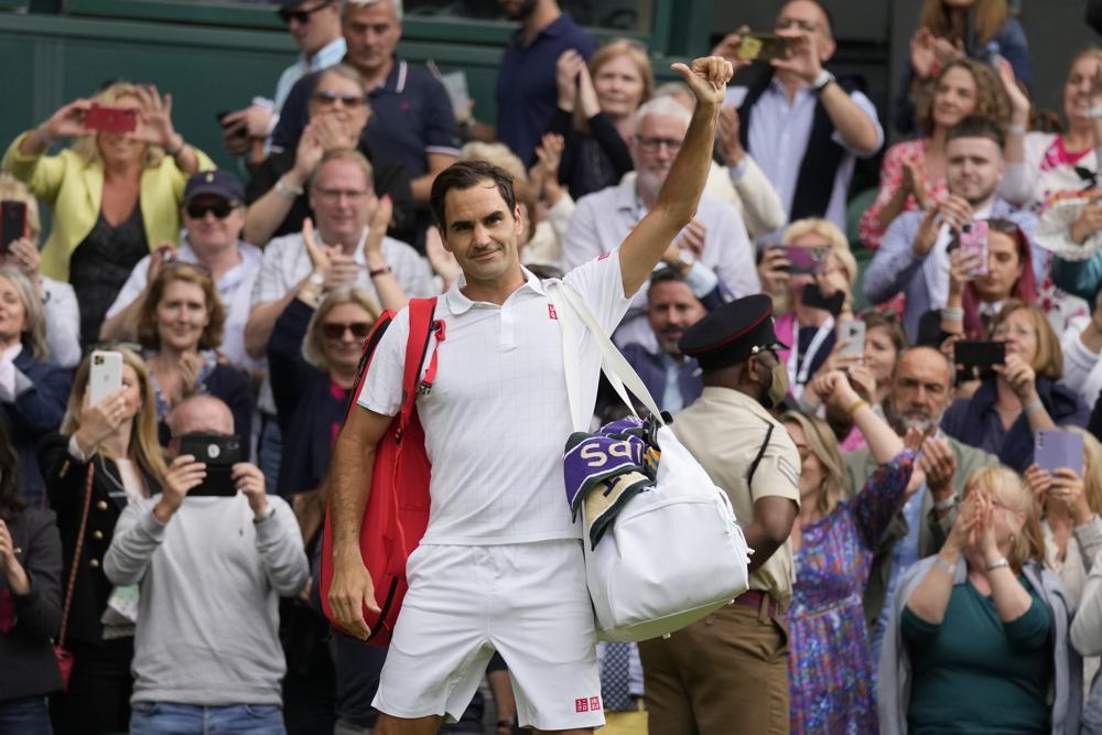 Federer cae en los cuartos de final de Wimbledon