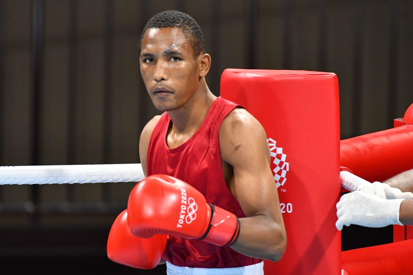 Alexy de la Cruz no accede a cuartos de boxeo en Tokio 2020
