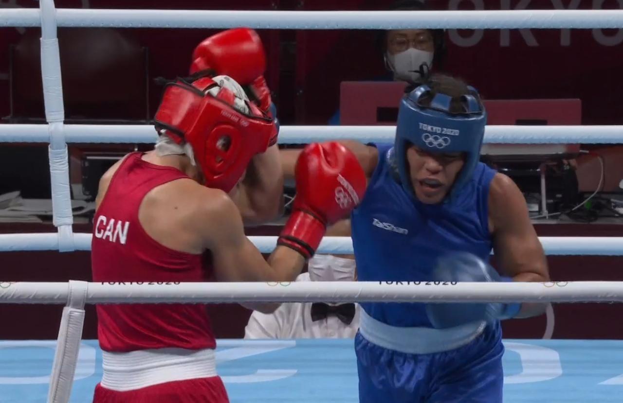 María Moronta se impone en Tokio y avanza a cuartos en boxeo Tokio