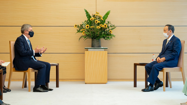 Presidente COI y primer ministro japonés ultiman detalles Tokio 2020