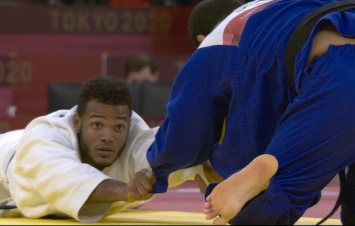 Robert Florentino no pasa de la primera ronda judo olímpico
